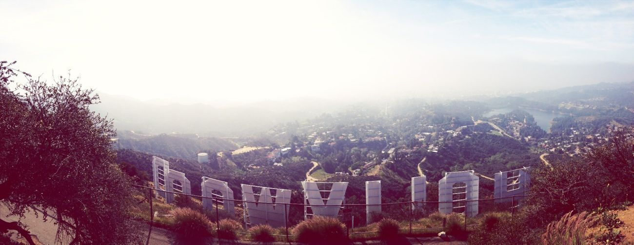 Sublime View From The Top Of Mt Hollywood