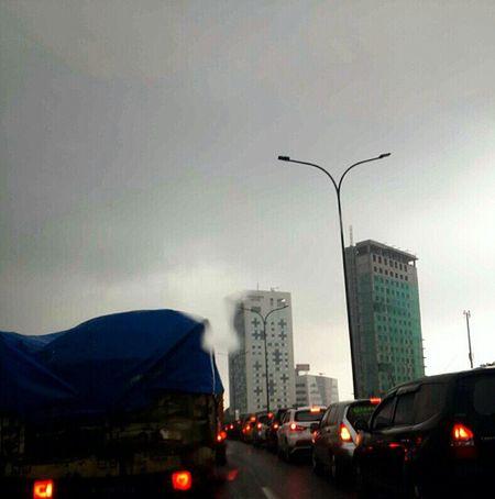 Traffic Jam Gloomyday  Bored Taking Photo JakartaStreet o_O