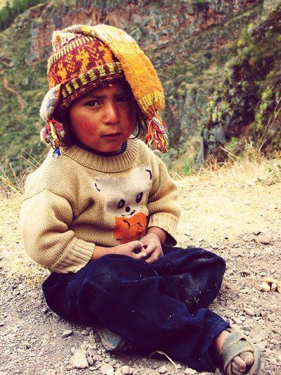 A child of Peru. DeLeonStrong Optoutside