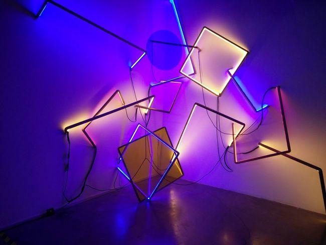 Light 三角形 几何 Night