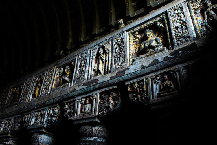 Old Heritage Site Of India Ajanta Caves Canon 70d FadeToBlack Indiapictures Indianculture