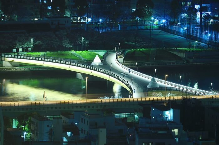 Night Bridge Sumida River Nightview Nightscape River View Riverscape Sumida River TokyoNightphotography Japan Tokyo Illuminated