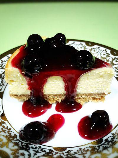 Blueberry cheese cake Bakery Homemadebakery Cakes Cheese Cake First Eyeem Photo