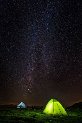 Nuit étoilé au sommet de la rhune Landscape Sonyalpha Popular Photos Landscape Paysage Nightphotography Night Nightsky France Light And Shadow Travel Camping Trekking Astronomy Galaxy Star - Space Milky Way Illuminated City Mountain Constellation Tent Space Planetary Moon Space And Astronomy Astrology
