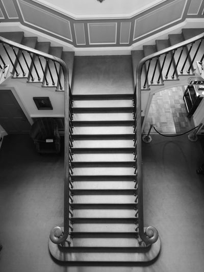 Stairs monochrome photography My Best Photo Spiral Staircase Steps And Staircases Steps Staircase Spiral Railing Architecture Built Structure Hand Rail The Mobile Photographer - 2019 EyeEm Awards