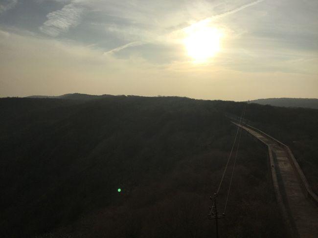 Landscape Mountain No People Outdoors Scenics Sun Sunset Transportation