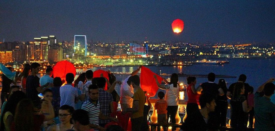 Baku EyeEm Azerbaijan Meetup Night Lights Popular Photos photo by me