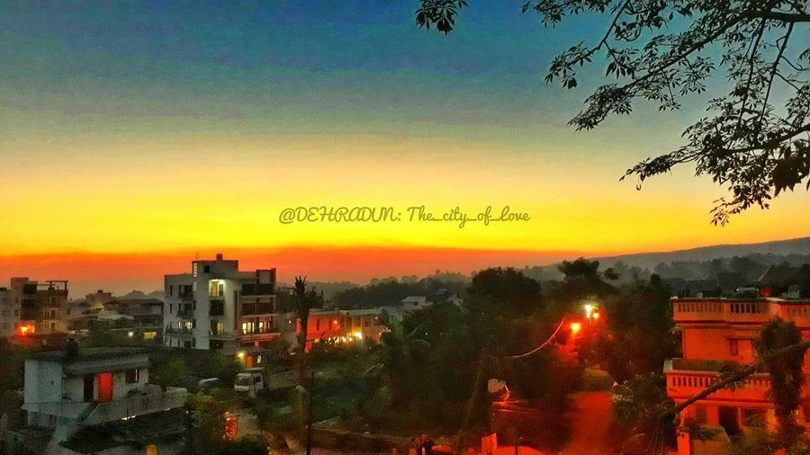 Nature_collection Sunset Sunlight Red Color Redstreet Redlight Trees Hills Hillstation Hillside Landscape Landscape_Collection Bright Colors Contrast No People Outdoors Sky City Nature Day Love Is In The Air The Week On EyeEm Best Shots EyeEm EyeEm Selects Landscape_photography