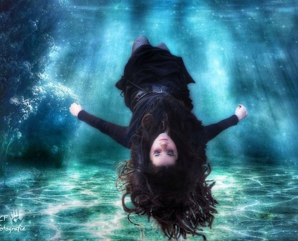 Seascape Floating Emotions Seacollection Nature Atmosphere Dreams Model Under Water Portrait Imagination Collection