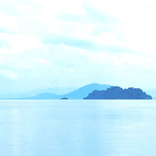 Shades of blue Islands Beauty In Nature Scenics Sea Nature Tranquility Tranquil Scene No People Water Outdoors Sky Day