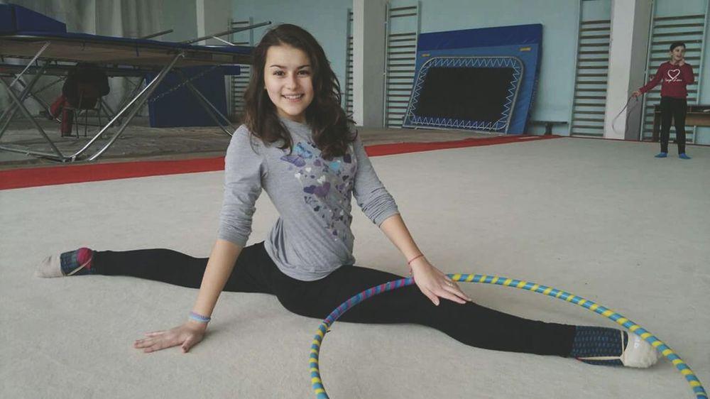 Rhythmic Gymnastics RG TBT  2 Years Ago Me Girl Smile