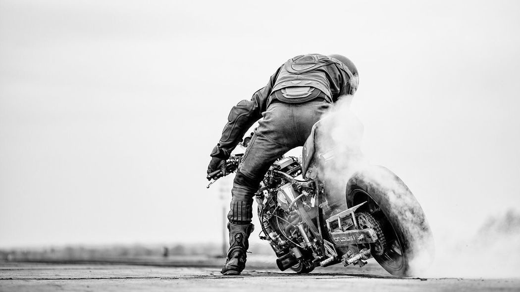 1/4 Drag Racing Racing 1/4 Mile Burnout Rottingham Drag Race Drag Race Schwarzweiß Blackandwhite Motorcycle Motorsport