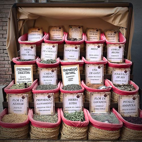 Let's Go. Together. Text Communication Market Price Tag Retail  Variation Day Store No People Alternative Medicine Sack Herb Choice Outdoors Food Business Close-up Herbal Medicine Freshness Talcum Powder Granada