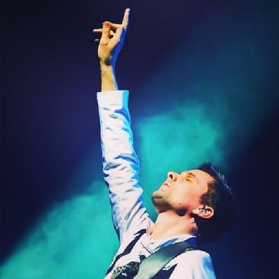 By far the greatest man on the planet <3 Mattbellamy Muse God Amazing inspiration
