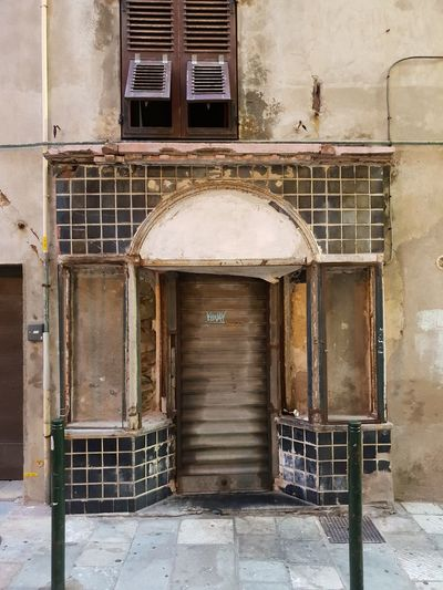 Bastia Building Old Buildings Old Ruins Prison Golf Club City Metal Grate Steel Window Abandoned Architecture Building Exterior Built Structure Deterioration Damaged Bad Condition