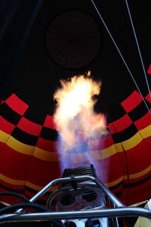 Hot Air Balloon at Sunrise Balloning Fire Flame Florida Hot Air Ballons Hot Air Balloon Hot Air Ballooning Hot Air Balloons Hot Air Balloons In The Sky Misty Morning Sky Sun Sunrise
