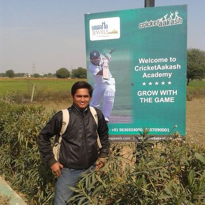 Thank you very much @cricketaakash sir for this opportunity. Cricketaakashacademy Jaipur