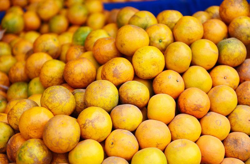 Pile of orange