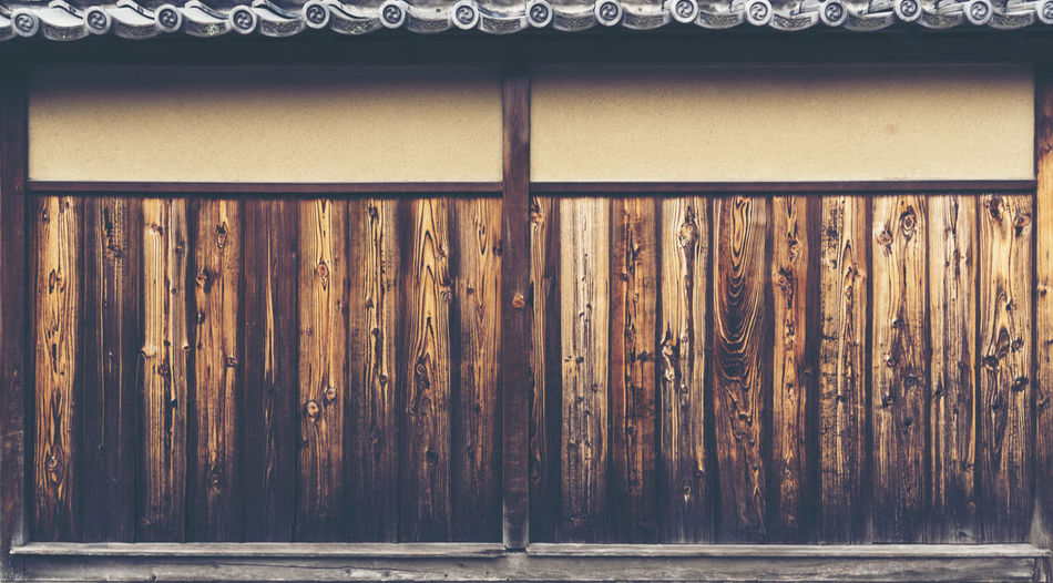 Exterior Of Wooden House