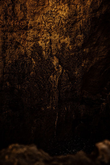 Backgrounds Textured  Solid No People Rock Rock - Object Close-up Full Frame Nature Dark Rough Brown Outdoors Pattern Architecture Weathered Geology Cave Rock Formation Textured Effect