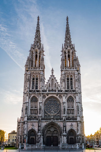 Low angle view of cathedral against sky