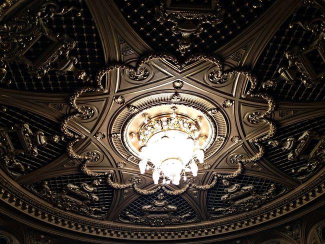 Architecture Chandelier Theater