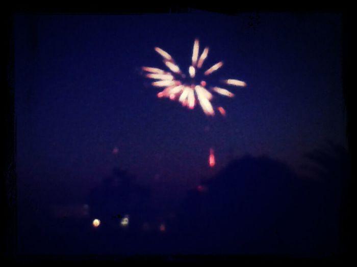 Fireworks Keep It Blury
