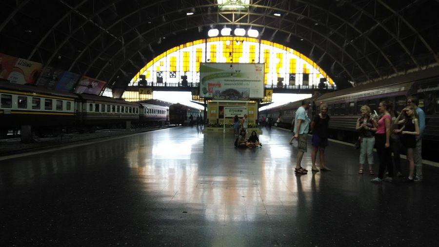 @travel Bangkok Train Station travel in bangkok