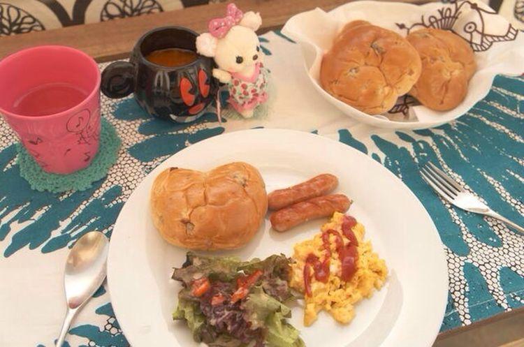 今日の朝食! 近頃和食ばかりだったので久々に。 The EyeEm Breakfast Club Breakfast Homemade Food Japan