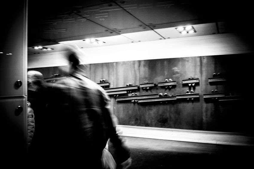 Metro Napoli Napoliphotoproject Real People Shoes Subway Train Transportation