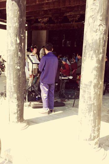 白驹过隙,风光不减。 Taking Photos Culture Beauty Time Peking Opera Morning Old Ladies
