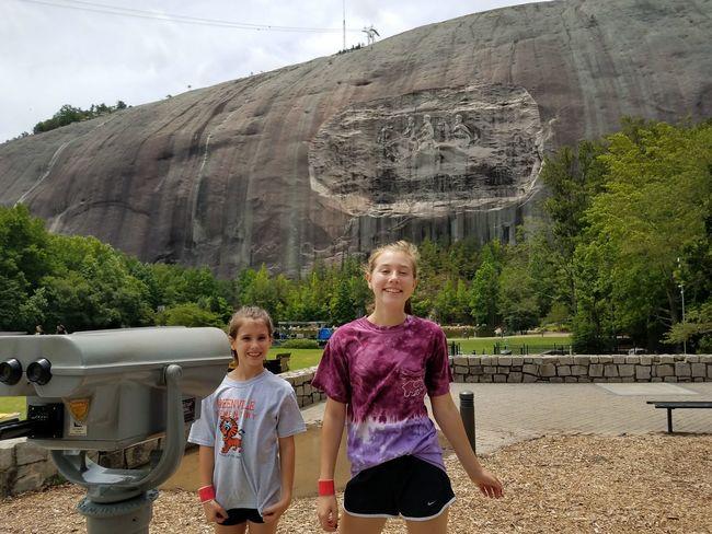 Stone Mountain Ga Stone Mountain State Park Memorial Day Atlanta Ga Family