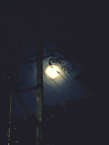 Supermoon2018 Lighting Equipment Illuminated Night No People Low Angle View Electricity  Outdoors