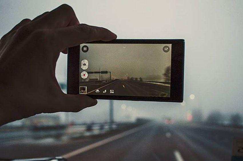 Road Roads Fog Travel Morning Nikon Nikon_photography_ Photo Friday Inmove Lenovo Arm