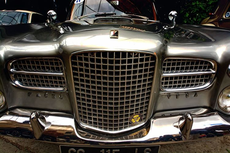 Car Close-up Day Headlight Land Vehicle Luxury Mode Of Transport No People Outdoors Transportation