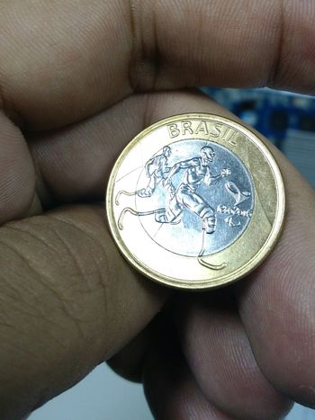 Brazil Coins Rio2016 Olimpic Games  Sport Athletism