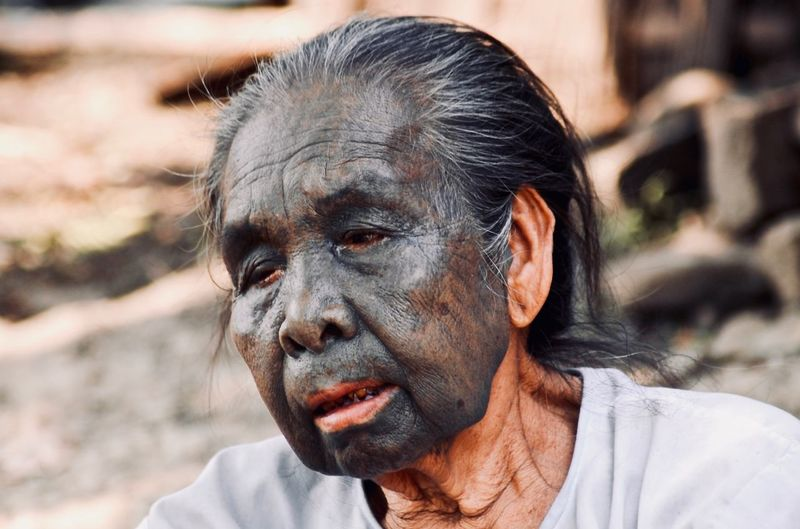 Tribos Tatoo Life Headshot Portrait Real People One Person Focus On Foreground Front View The Portraitist - 2018 EyeEm Awards Senior Adult Human Face