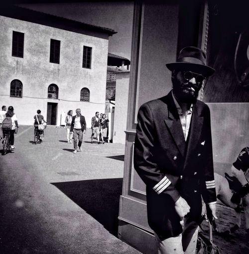 GoodFellas IMP At Pitti Uomo 86 The Black Man Streetphoto_bw ♣ Streetfashion