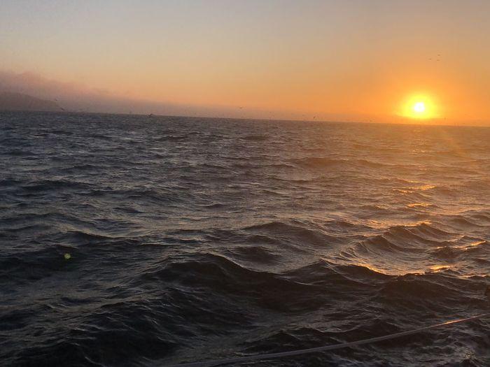 Sunset Sea Sky