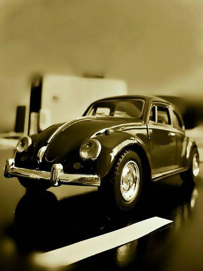 Monochrome , Sepia , VW Beetle ,cars