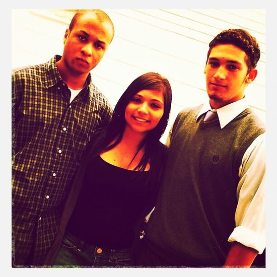Me and my cousins.
