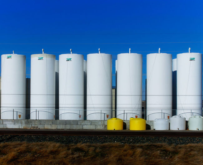All in a row Architectural Detail Candle Chemical Tanks Lines Lines&Design Pesticide Silos Still Life Tanks
