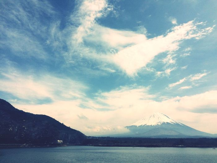 富士山 山梨 富士山 Mountain Nature Landscape Taking Photo