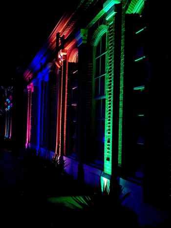 Christmas Lights Colorsplash Colors Garden Glo Night Illuminated Multi Colored