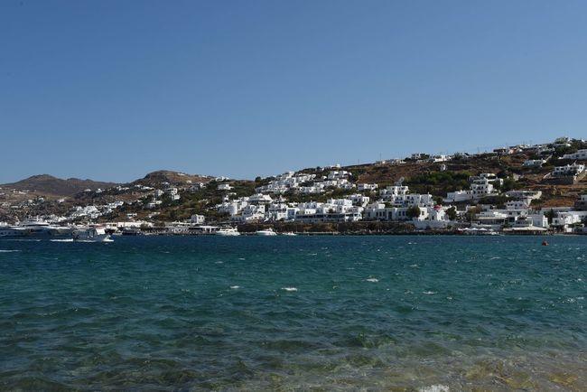 Aegean Aegean Islands Aegean Sea Blauer Himmel Blaues Meer Blaues Wasser Blue Sea Blue Sky Greece Kykladen Kyklades Mykonos Mykonos,Greece Sky Wasser Water ägaisches Meer ägäis ägäische Inseln
