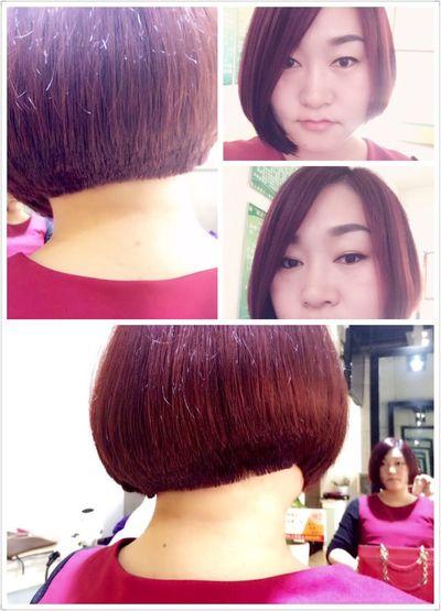 炎热的夏季剪一款露脖子短发再舒服不过了。 Hair 美发 作品 First Eyeem Photo