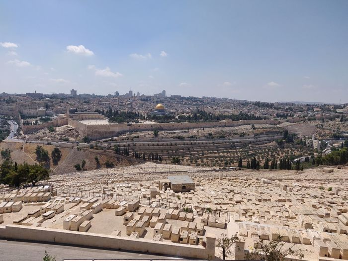The Beauty of Jerusalem Palestine Alaqsamosque Ancient Ancient Civilization Archaeology Architecture Building Building Exterior Built Structure City Cityscape Day High Angle View History Jerusalem Nature No People Old Ruin Outdoors Sky The Past Tourism TOWNSCAPE Travel Travel Destinations First Eyeem Photo