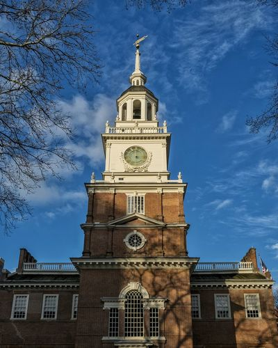 Independence Independence Hall Historical Building Nationalpark Philadelphia Philly Liberty Historic