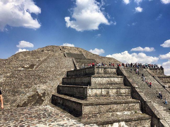 Teotihuacán Pyramids Teotihuacan Mexico Pyramid Steps History Ancient Travel Destinations