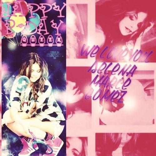 Happy Birthday,dear @selenagomez Sweet22years Selena We_love_you